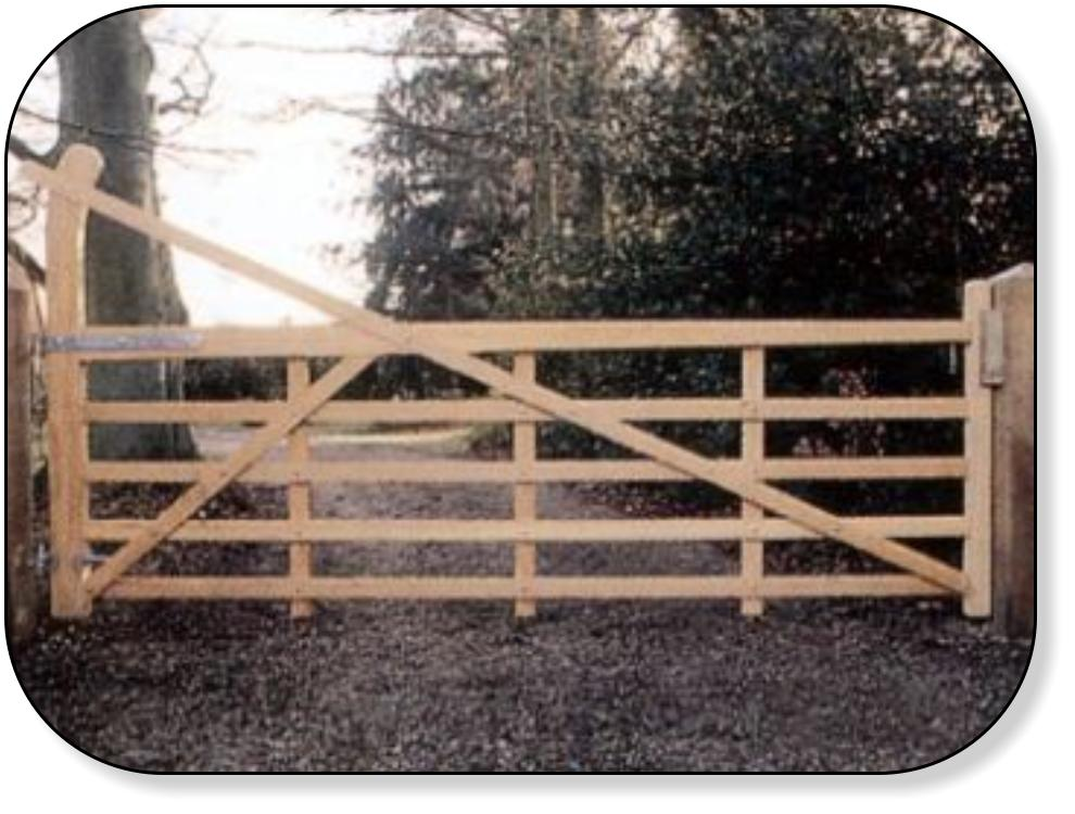 Metal 5 Bar Gates Classic 5 Bar Galvanised Gates Available In A Range Of  Widths From 3ft To 14ft (900mm To 3600mm). Side U0026 Garden Gates Available In  3 U0026 4ft ...